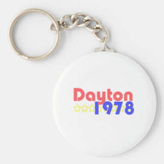 Dayton 1978 llaveros personalizados