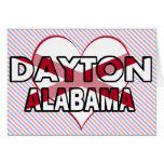 Dayton, Alabama Greeting Card