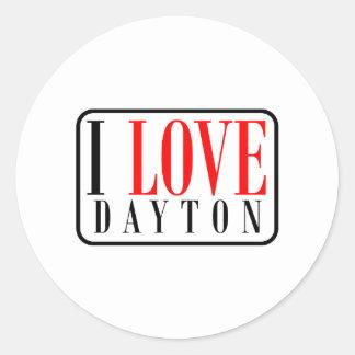 Dayton, Alabama Pegatina Redonda