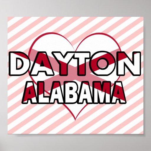 Dayton, Alabama Posters