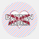 Dayton, Alabama Stickers