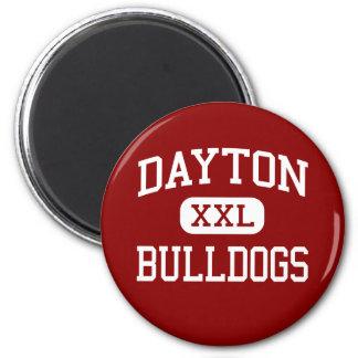 Dayton - dogos - centro - Dayton Washington Imán Redondo 5 Cm