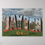 Dayton, Ohio (avión de los hermanos de Wright) Póster