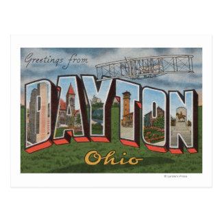 Dayton, Ohio (avión de los hermanos de Wright) Tarjeta Postal
