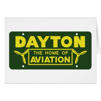 Dayton Ohio Card