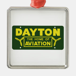 Dayton Ohio Metal Ornament