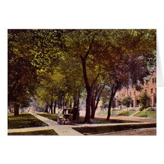 Dayton Ohio North Boulevard Greeting Card