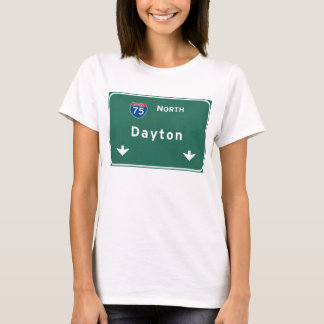Dayton Ohio oh Interstate Highway Freeway : T-Shirt
