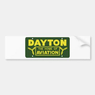 Dayton Ohio Pegatina Para Auto