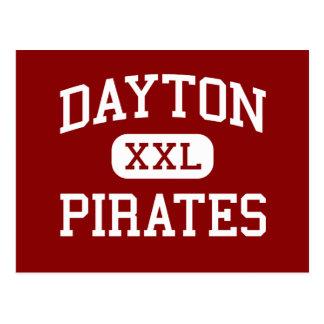 Dayton - Pirates - High School - Dayton Oregon Post Card
