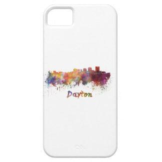 Dayton skyline in watercolor iPhone SE/5/5s case