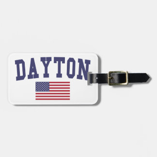 Dayton US Flag Bag Tag