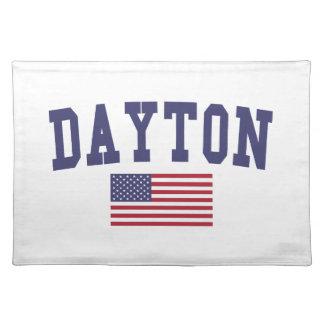 Dayton US Flag Cloth Placemat