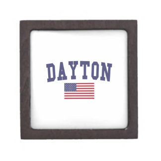 Dayton US Flag Jewelry Box