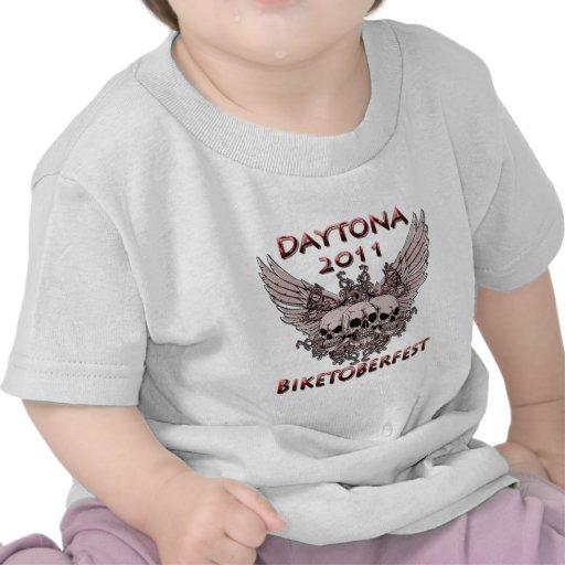 Daytona 2011 cráneos rojos camisetas