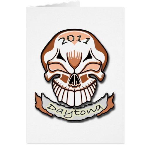 Daytona 2011 tarjeta de felicitación