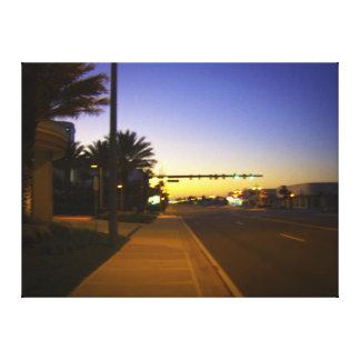 Daytona Bch Shores Sunrise A1A at Ocean Vistas Canvas Print
