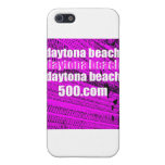 Daytona Beach 500 en pistas fucsias del neumático iPhone 5 Coberturas