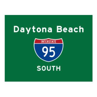 Daytona Beach 95 Postcard