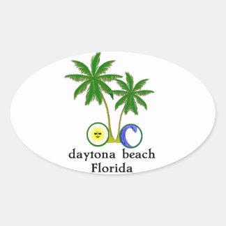 Daytona Beach Auto Window Bumper Sticker Decal