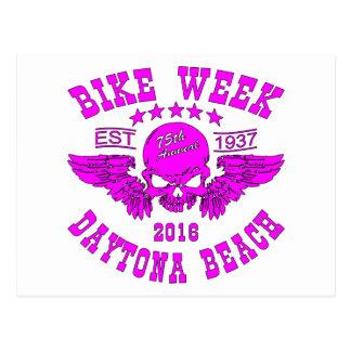 Daytona Beach Bike Week 2016 Postcard