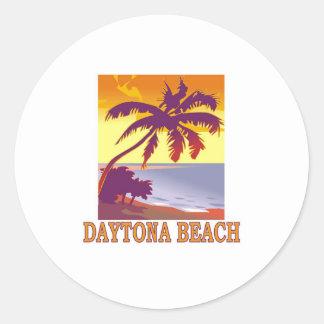 Daytona Beach Classic Round Sticker
