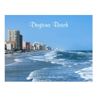 Daytona Beach Coast Post Card