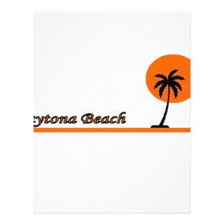 Daytona Beach Custom Letterhead
