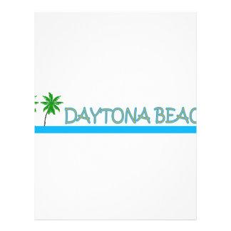 Daytona Beach Customized Letterhead