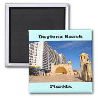 Daytona Beach famosa la Florida Imán Cuadrado
