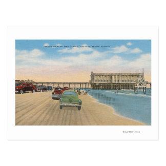 Daytona Beach, FL - opinión de la playa del casino Postal