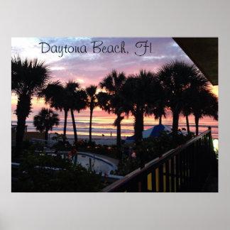 Daytona Beach, FL Sunrise Poster