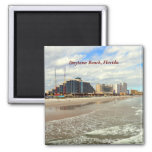 Daytona Beach Florida 2 Inch Square Magnet