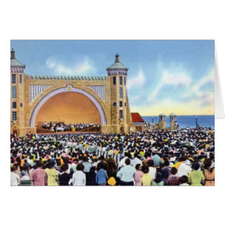 Daytona Beach Florida Bandshell and Open Air Theat Card