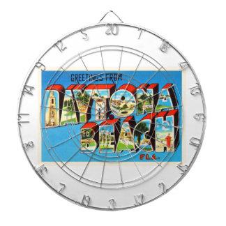 Daytona Beach Florida FL Vintage Travel Souvenir Dart Board