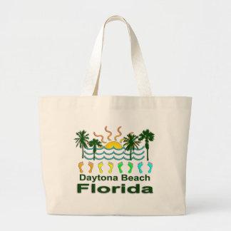 Daytona Beach Florida Large Tote Bag