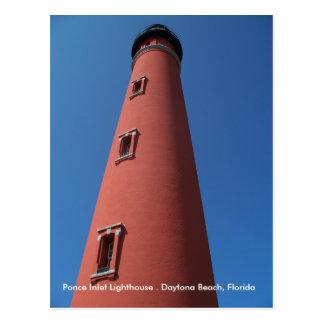 Daytona Beach Florida Lighthouse Postcard photo FL