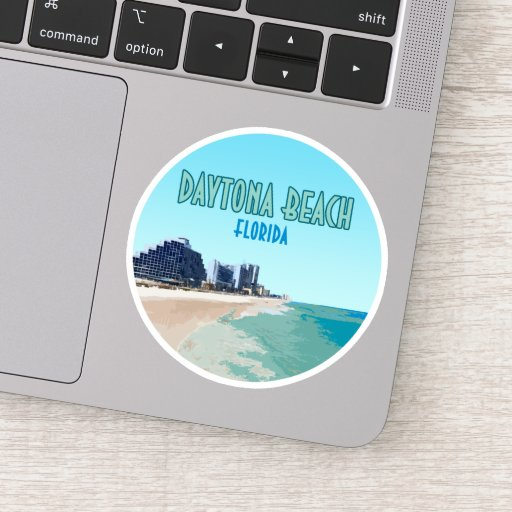 Daytona Beach Florida Vintage Sticker