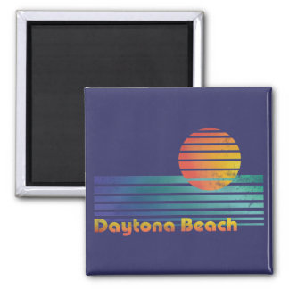 Daytona Beach Imán Cuadrado