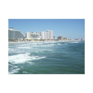 Daytona Beach Impresión De Lienzo