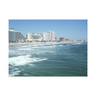 Daytona Beach Impresión En Lona