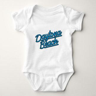 Daytona Beach in cyan Baby Bodysuit