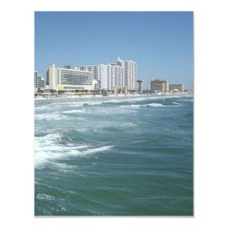 """Daytona Beach Invitación 4.25"""" X 5.5"""""""