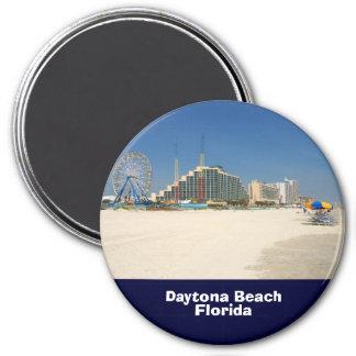 Daytona Beach la Florida Imán Redondo 7 Cm