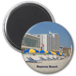 Daytona Beach la Florida Imán Redondo 5 Cm