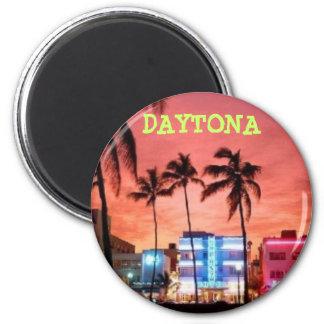 Daytona Beach, la Florida Imán Redondo 5 Cm