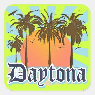 Daytona Beach la Florida los E.E.U.U. Colcomanias Cuadradass