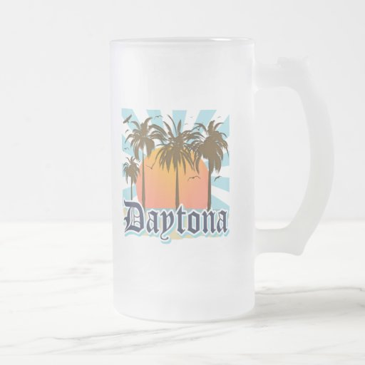 Daytona Beach la Florida los E.E.U.U. Taza