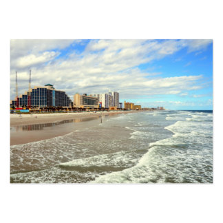 Daytona Beach la Florida Tarjetas De Visita Grandes