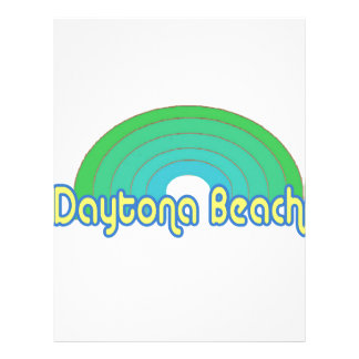 Daytona Beach Letterhead Template